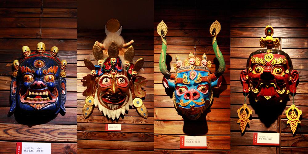 西藏面具艺术
